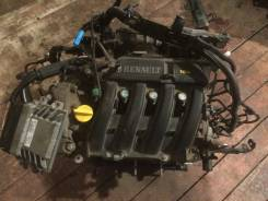 Двигатель. Renault Symbol, LB Двигатель K4J