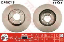 Диск тормозной передний MAZDA 6 (GH) DF4974S