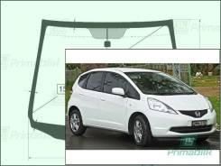 Лобовое стекло Honda FIT 2007-2013 (GE/TFO-JPN/EUR)( RHD) обогрев (Зеленоватый оттенок, Бренд:УНG)
