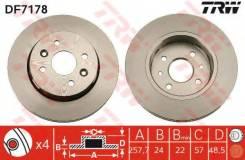Диск тормозной передний KIA SHUMA II (FB) DF7178