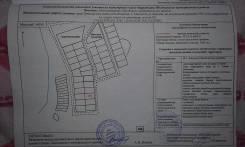 Земельный участок 1500кв. м. Большой Камень. 1 500 кв.м., аренда, от частного лица (собственник). Схема участка