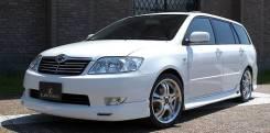 Решетка радиатора. Toyota Corolla, ZZE123L, ZZE121, ZZE122, NZE120, ZZE123, NZE121, ZZE124, NZE124, ZZE121L Toyota Corolla Fielder, NZE124, ZZE124, ZZ...