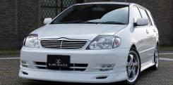 Решетка радиатора. Toyota Corolla, ZZE124, ZZE122, NZE120, NZE121, ZZE120 Toyota Corolla Fielder, ZZE124, ZZE122, NZE120 Toyota Allex, NZE121, ZZE124...