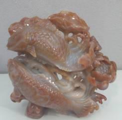 Скульптура из агата. Уникальный подарок!