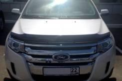 Дефлектор капота (мухобойка) Форд Едж, 10-14, темный SIM 1012