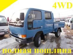 Nissan Atlas. 4WD, двухкабинник + борт 1,5 тонны, 2 700 куб. см., 1 500 кг.