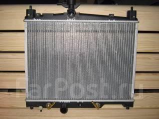Радиатор охлаждения двигателя. Toyota Vitz, SCP10 Toyota Yaris, SCP10 Toyota Platz, SCP11 Toyota Echo, SCP10 Двигатель 1SZFE
