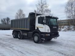 Scania. Самосвал P400 2013 года 6х4 пробег 62 тыс. км., 13 000 куб. см., 26 000 кг.