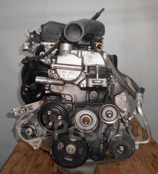 Двигатель с КПП, Daihatsu K3  QNC10