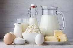 Молоко и молочные продукты.
