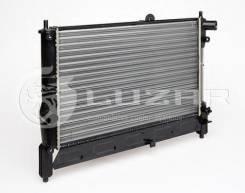 Радиатор двигателя сборн. Chevrolet Lanos (02-) LRC0563