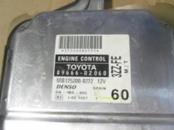 Блок управления двс. Toyota Corolla, ZZE121 Двигатель 3ZZFE
