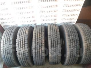Грузовые зимние шины Bridgestone W910 7,50R16 с дисками. 6.0x16 6x222.25 ET127 ЦО 165,0мм.