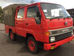 Toyota Hiace. Двухкабинный грузовик, 2 400куб. см., 1 000кг.