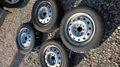 Goodyear Ice Navi Hybrid Zea. Зимние, без шипов, 2011 год, износ: 5%, 4 шт