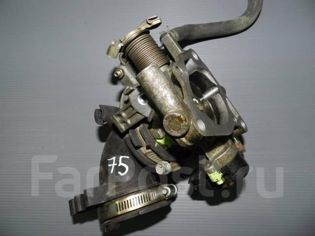 Заслонка дроссельная. Mazda Demio, DY3W, DY5R, DY5W, DY3R Mazda Mazda3, BK Mazda Verisa, DC5R, DC5W Mazda Axela, BK5P Двигатели: MZR, ZYVE, Z6, ZJVE
