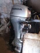 Honda. 9,90л.с., 4х тактный, бензин, нога L (508 мм), Год: 2006 год