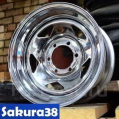 Sakura Wheels. 8.0x15, 5x139.70, ET-20, ЦО 110,0мм.