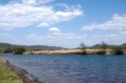 25 соток в пгт Шкотово рядом с рекой. 2 500 кв.м., аренда, от частного лица (собственник)