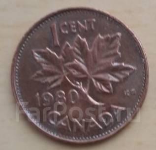 1 цент - 1980 г. Канада .