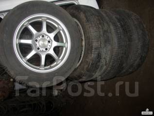 Bridgestone ecopia 195/65R15 на дисках япония литые R15 5x100. x15 5x100.00 ET45