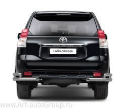 Защита бампера. Toyota Land Cruiser Prado, GDJ150L, GRJ151, GDJ150W, GRJ150, GRJ150L, GDJ151W, GRJ150W, GRJ151W Двигатели: 1GRFE, 1GDFTV
