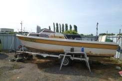 Yamaha Fish 22. Год: 1993 год, длина 7,00м., двигатель подвесной, 90,00л.с., бензин