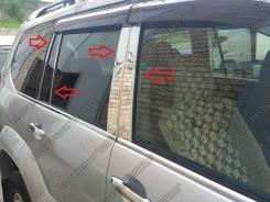 Накладка на стойку. Toyota Land Cruiser Prado, GDJ150L, GRJ151, GDJ150W, GRJ150, GDJ151W, GRJ150L, KDJ150L, GRJ150W, GRJ151W, UZJ120 Lexus GX470, UZJ1...