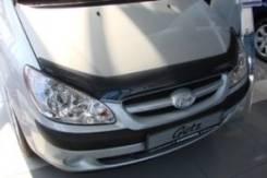 Дефлектор капота. Hyundai Getz, TB Двигатели: G4EE, G4HG, G4HD