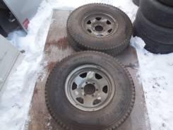 Bridgestone Blizzak W965. Зимние, без шипов, 2005 год, износ: 5%, 2 шт