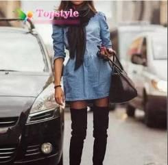 Платья джинсовые. 44