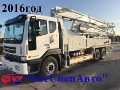 Daewoo Novus. 15,5 тонн Автобетононасос 40ZX5170 EVRO-V (2016год), 10 964 куб. см., 40 м. Под заказ