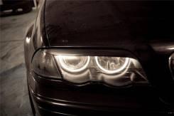 Защита фар прозрачная. BMW 3-Series, E46, E46/2, E46/3, E46/4, E46/2C, E46/5