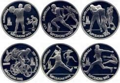 Набор монет Барселона. 6 монет. Отличная цена. Под заказ
