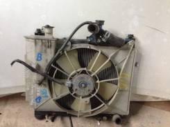 Радиатор охлаждения двигателя. Toyota Vitz, NCP10 Двигатель 2NZFE