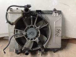 Радиатор охлаждения двигателя. Toyota Vitz, NCP91 Двигатель 1NZFE