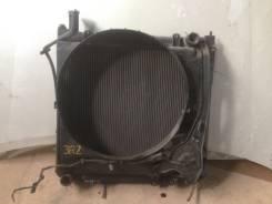 Радиатор охлаждения двигателя. Toyota Hiace Regius, RCH47W Двигатель 3RZFE