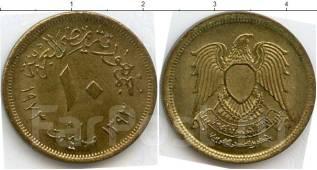 Ливия 10 дирхам (иностранные монеты)