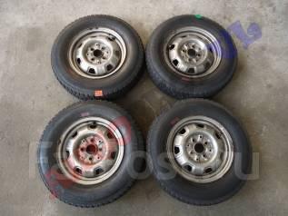 Штампованные диски с резиной Bridgestone Blizzak Extra PM-30 165/80R13. 5.0x13 4x100.00