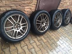 Bridgestone Blizzak Spike-01. Зимние, шипованные, 2013 год, износ: 40%, 4 шт