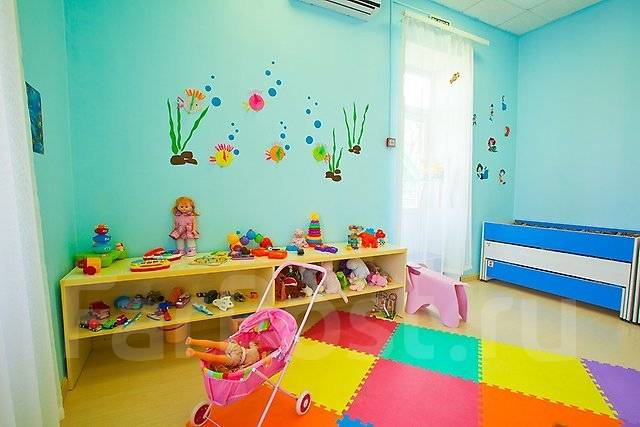 Детские сады.