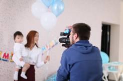 Видеооператор Свадьбы, Утренники, День рождения, Love Story