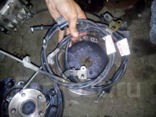 Тросик ручного тормоза. Toyota Wish, ANE10, ZNE10, ZGE20, ZGE21 Двигатели: 2ZRFAE, 1ZZFE, 3ZRFAE, 1AZFSE