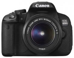Canon EOS 650D. 15 - 19.9 Мп. Под заказ