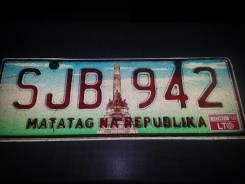 Номер на авто Филиппины