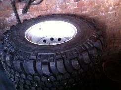 Отличные колеса на уаз. 12.5x15 5x139.70 ET-40 ЦО 108,0мм.