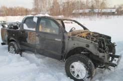 Toyota Hilux. ПТС PickUp 2012г. Черный. 2,5л.