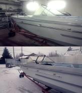 Ремонт лодок ЛЕЕР НА Катер АМУР (Д) вдоль борта в наличии 4 шт.