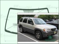 Лобовое стекло Mazda TRIBUTE 2000-2007 (1st Gen/EP) пятак-зерк (Зеленоватый оттенок, Бренд:SF-КDМ)