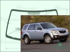 Лобовое стекло Mazda TRIBUTE 2007-2012 (2nd Gen/EP) пятак-зерк (Зеленоватый оттенок, Бренд:SF-КDМ)